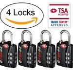 Top 5 Best Selling TSA Approved Luggage Locks