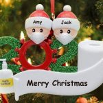 BEST SELLING VOTED #1 2020 Covid-Themed Personalized Ornament – SAVE 50% NOW!